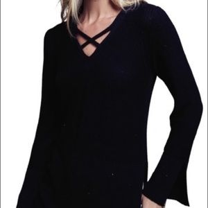 Free People Crisscross Sweater
